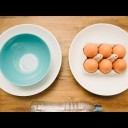 白身と黄身の分け方 Very Cool Way to Separate Egg Yolk