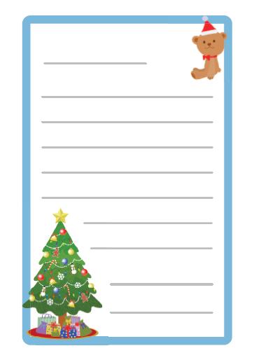 サンタさんへの手紙 けこりん英語教室 児童小学校英語幼児子供